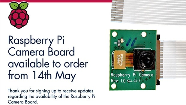 Raspberry Pi camera module comes to the UK May 14th, lands early for some