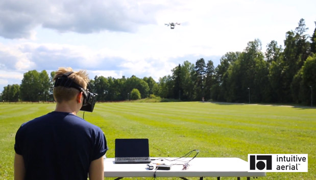 DNP Intuitive Aerial takes the Oculus Rift's on its first FPV drone flight