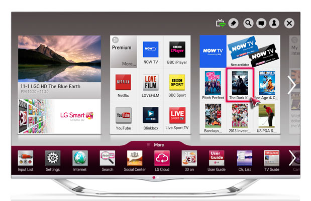 LG inks Sky deal for exclusive Now TV streaming access on smart TVs