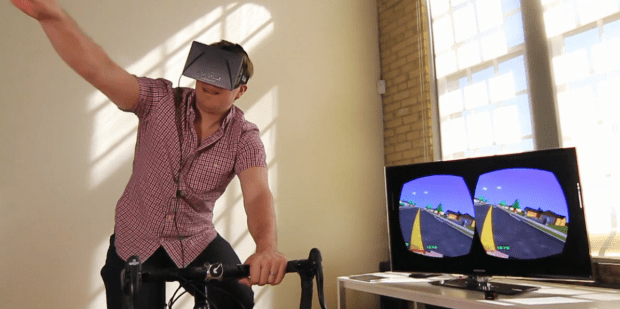 DNP OCulus Rift's Paperman gives all the fun of Paperboy but with a sweat