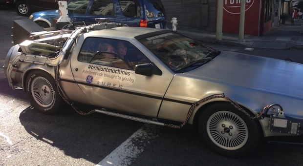 DNP Uber to offer Delorean rides in SF this weekend, time travel not included