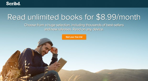 Scribd launches $9 subscription ebook service with HarperCollins titles