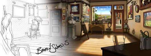 Broken Sword returns via Kickstarter in 'The Serpent's Curse,' coming in 'early 2013'