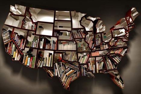 Cool Book Shelf