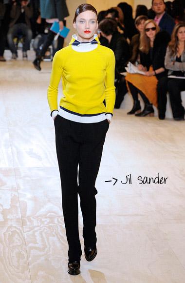 Ski pants Jil Sander SS12
