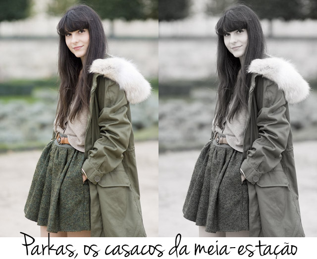Inspiration Board: parkas /  | Blog da Alice Ferraz