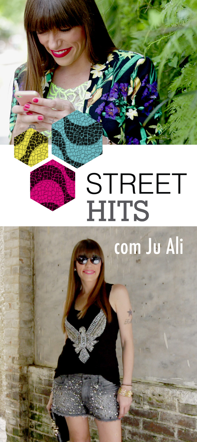 Street Hits   Shorts Bordado com Ju Ali | Blog da Alice Ferraz