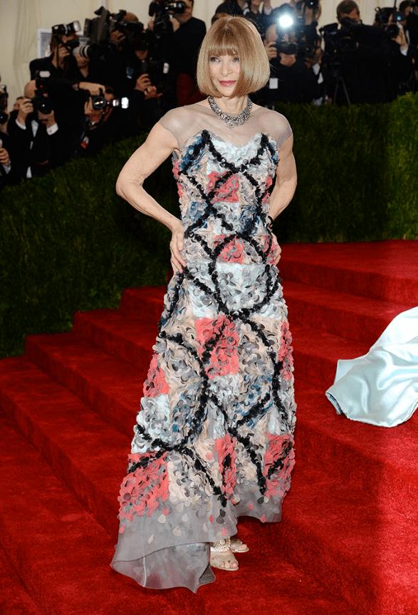 Anna Wintour Chanel Haute Couture