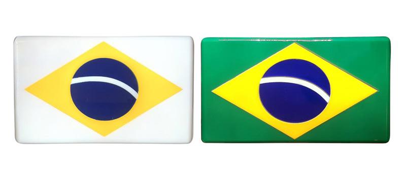 Clutch Bandeira do Brasil Thelure
