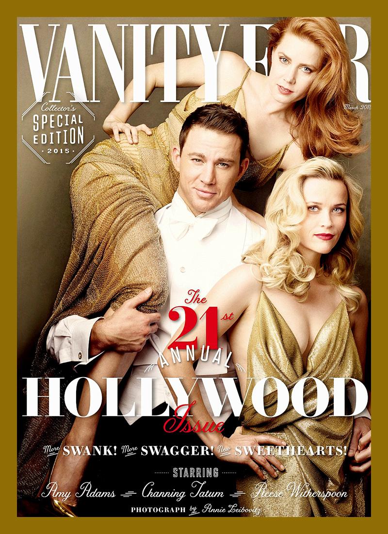 A capa da revista Vanity Fair, Março 2015
