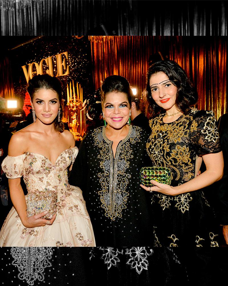 Aqui eu e Camila Coelho (que mais abaixo eu falo do look princesa) com a anfitriã da noite, minha amiga querida Daniela Falcão, que estava radiante e chiquérrima!
