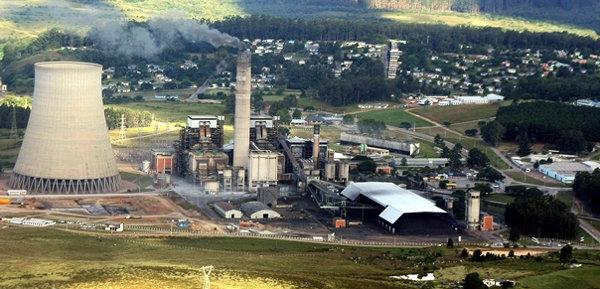 Usina da Eletrobras, em Candiota, Rio Grande do Sul