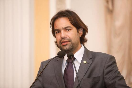 Deputado estadual Diogo Moraes