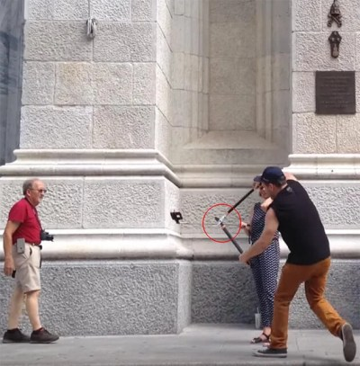 hedge-trimmer-selfie-sticks
