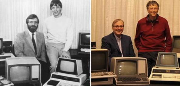 Paul Allen et Bill Gates