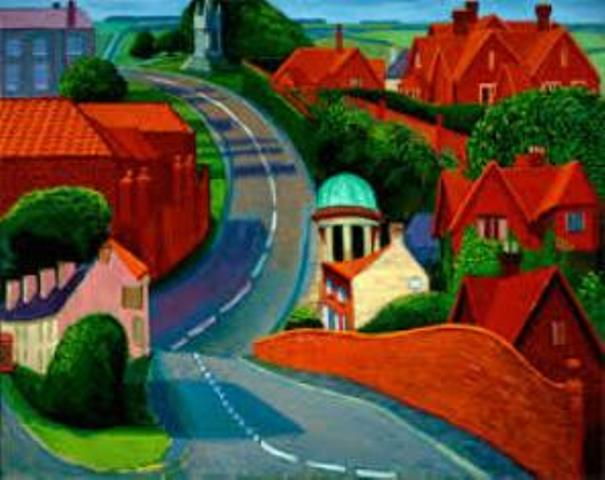the road to york (Hockney)