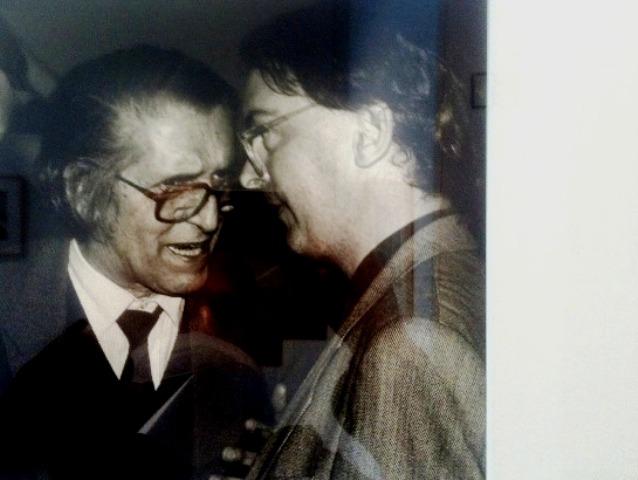 Alejandro Rossi y Vila-Matas en Guadalajara (México) 1995