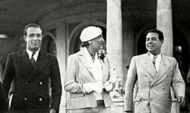 Bioy Casares, Ocampo y Borges.