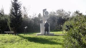 patti smith, omaggio a Pasolini en Ostia.