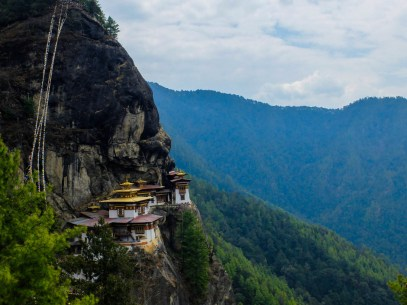 A view of Tiger's Nest