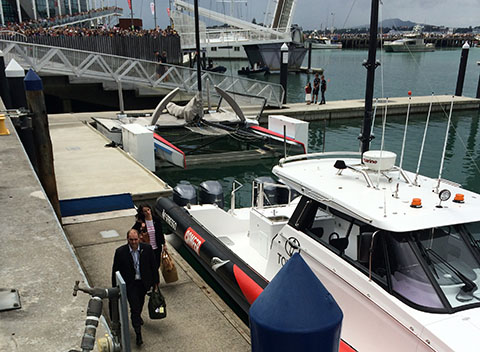 America's Cup Auckland Royal Visit NZ