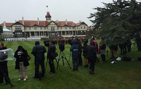 Royal media Wellington