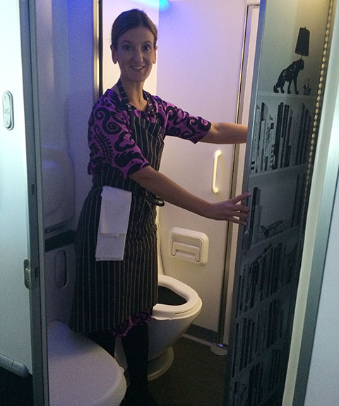 Dreamliner disabled loo