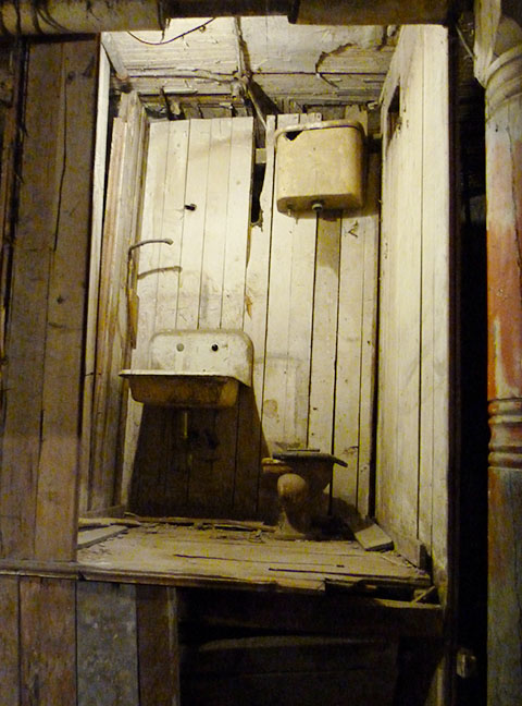 Underground Seattle toilet