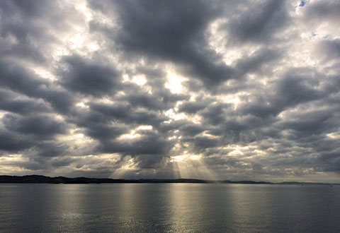 Auckland clouds