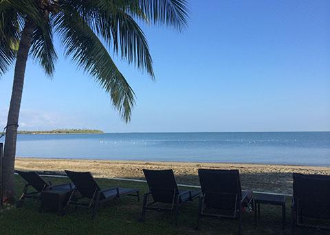Sofitel Fiji sea