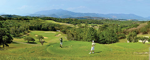 New Caledonia golf