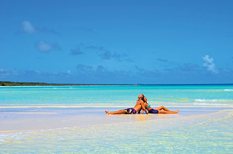 Lovers in New Caledonia