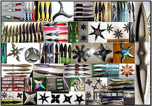 TSA knives