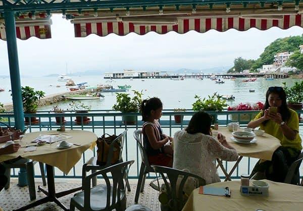 Lamma Island seafood restaurant