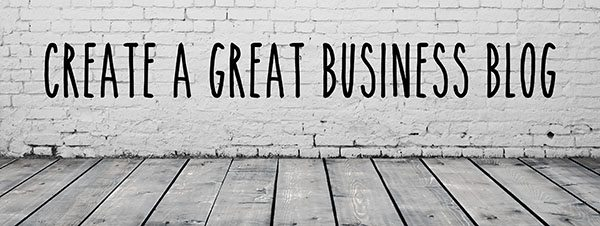 Blog training for business