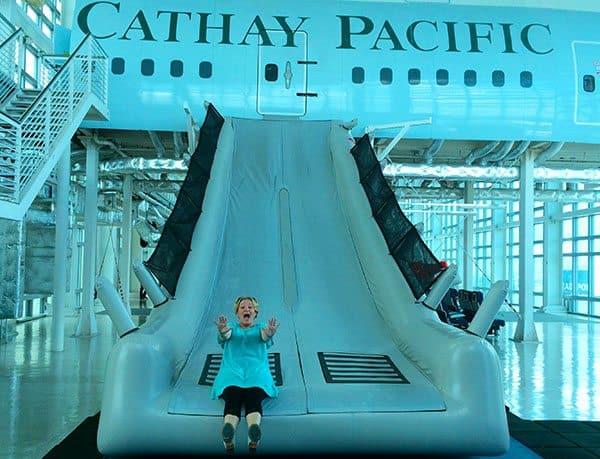 Cathay airways slide