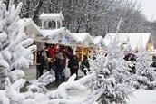 Paris Christmas market small