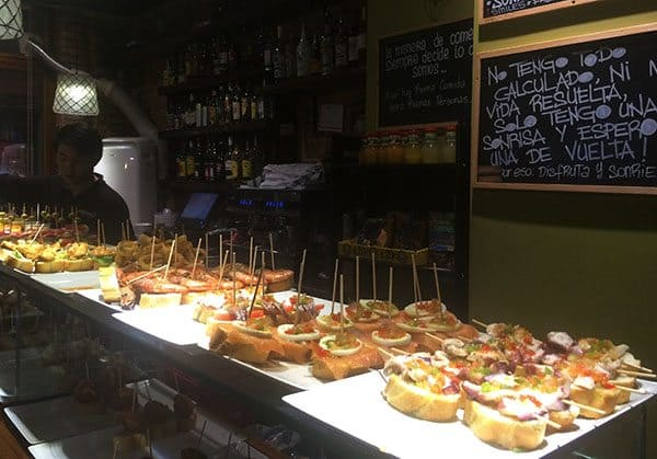 Eating in Barcelona