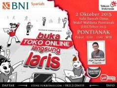 Seminar Buka Toko Online Langsung Laris Pontianak 2015