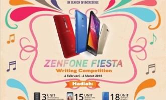 Permalink to ASUS Zenfone Fiesta 2016, Lomba Blog Bertabur Smartphone