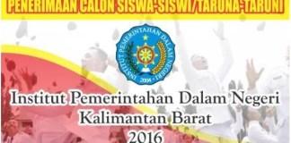 Info Seleksi IPDN Kalbar 2016