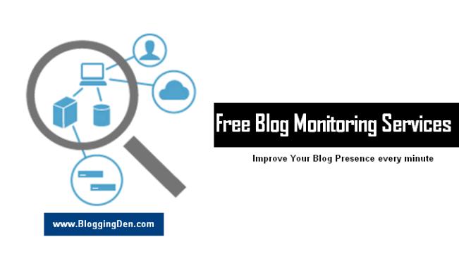 Free blog monitoring services