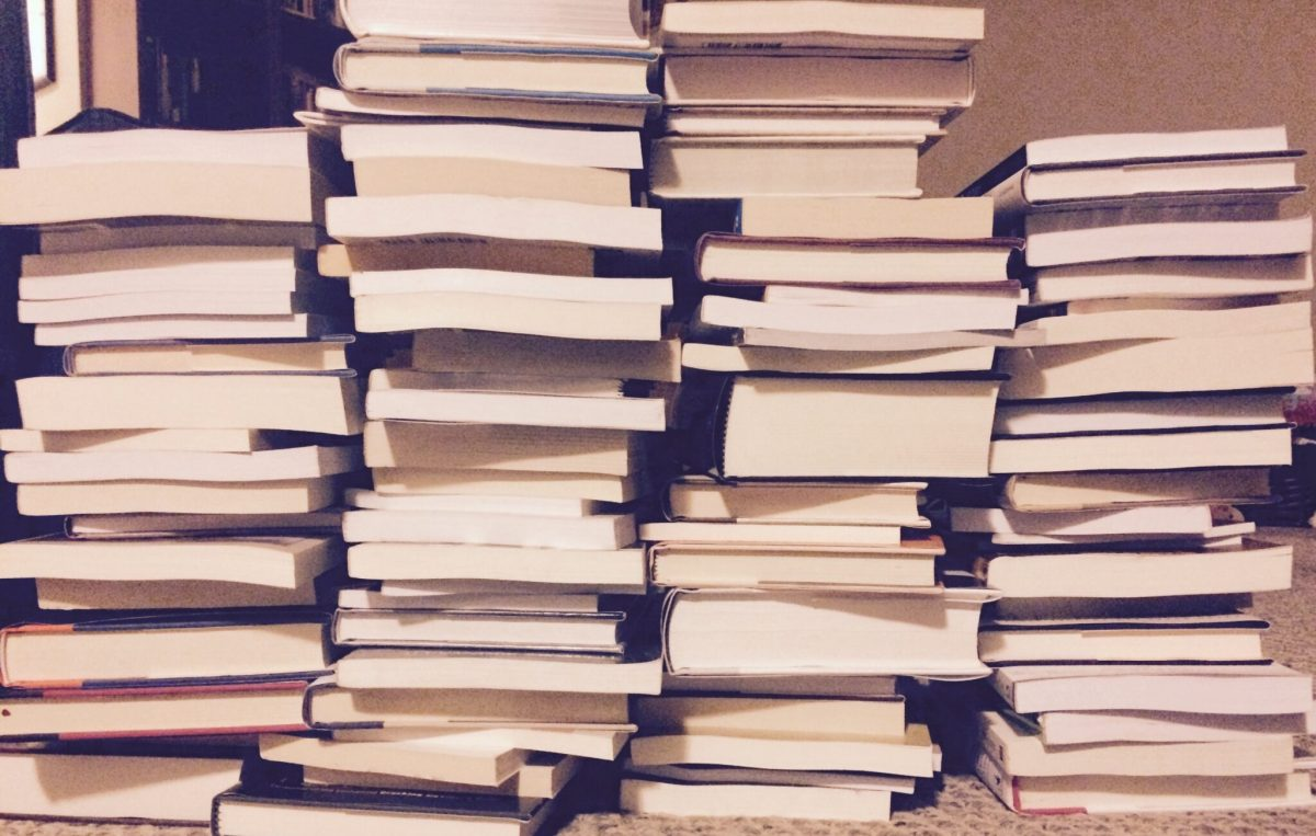 What does too many books look like?