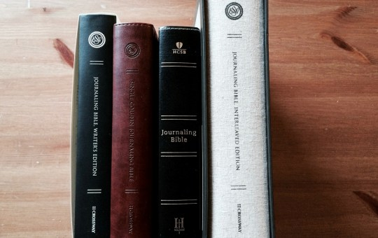 What's the right (journaling) Bible for you?