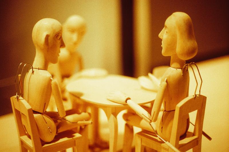 debating at the table