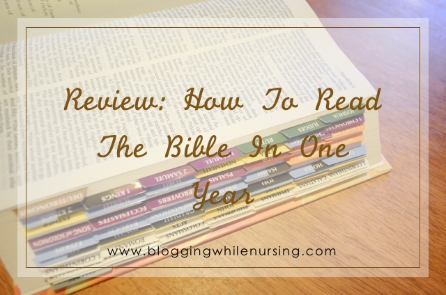 How To Read The Bible In One Year Review