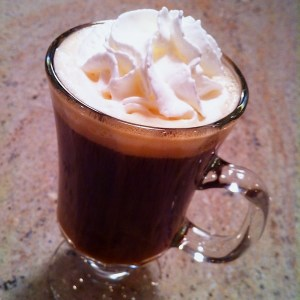 The perfect Irish Coffee.