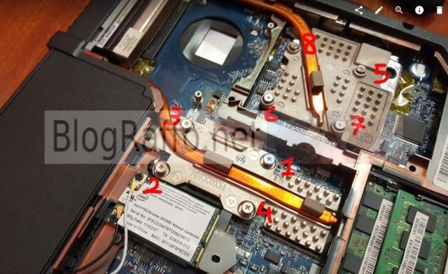 Acer 7720g rimozione alette raffreddamento