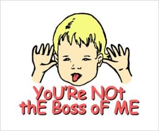 no bossing