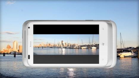 HTC RADAR Screen